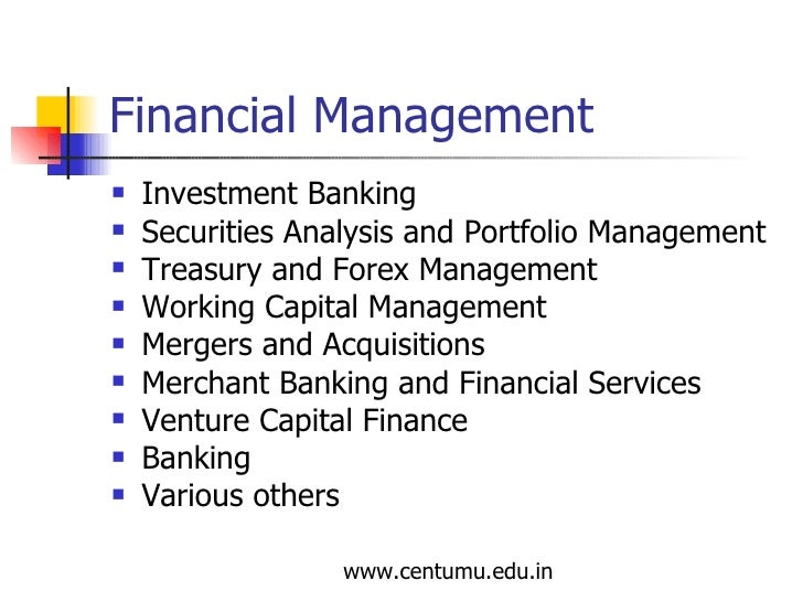 Forex and treasury management
