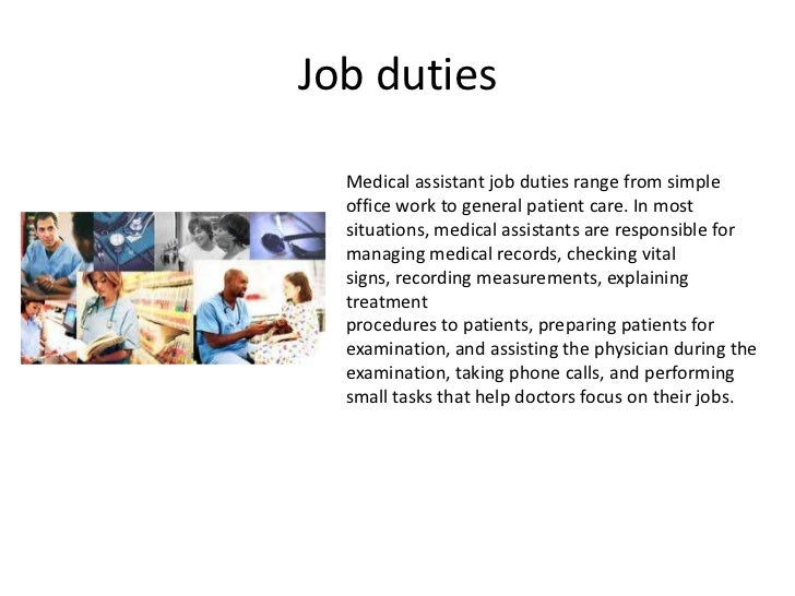 RecruitmentHeroBackground Role Of A Personal Care Assistant – Medical Assistant Job Dutie