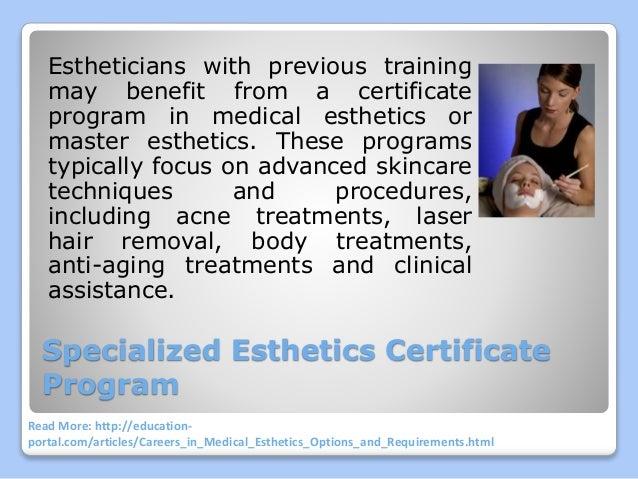 Careers in Medical Esthetics