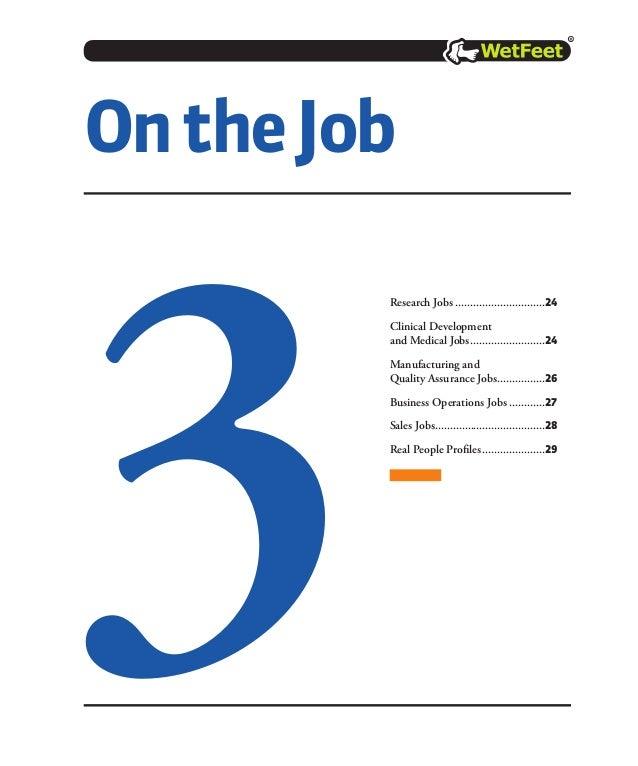 Careers In Pharmaceuticals