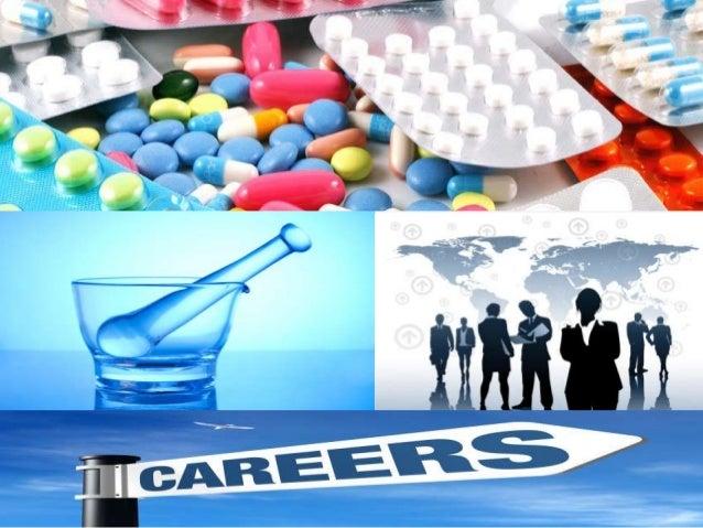 Careers in pharma industry Slide 2