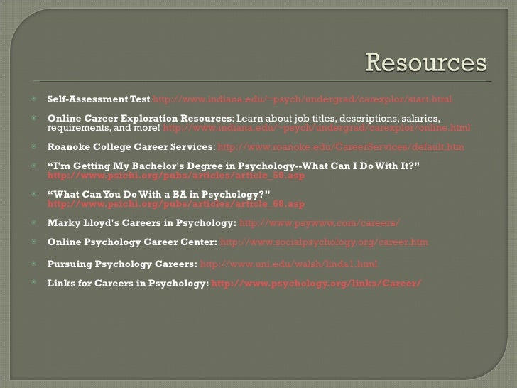 jobs you can get with a ba in psychology