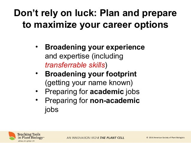 career building where do you want to go and how will you get there