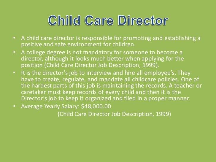 preschool director salary careers presentation 260 378