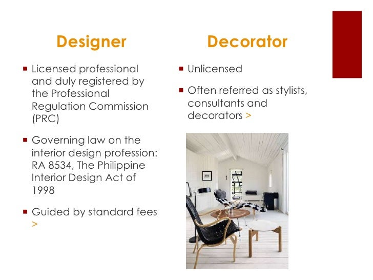 Career talk on interior design for Interior design profession