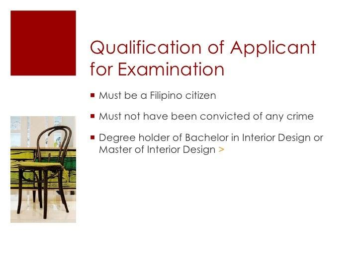 Career Talk On Interior Design Rh Slideshare Net Qualifications Needed For Interior  Designer Qualifications For Interior
