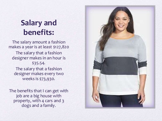 Fashion Designer Salary Benefits - Best site garden design ...