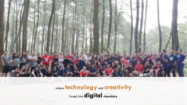 where technologyand creativity fused into digitalchemistry