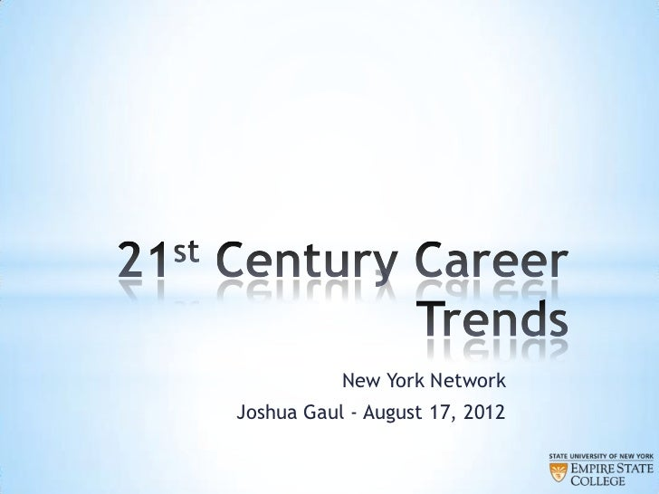 New York NetworkJoshua Gaul - August 17, 2012