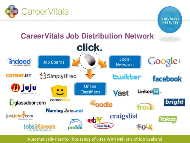 CareerVitals Healthcare Job Board - Features, Pricing