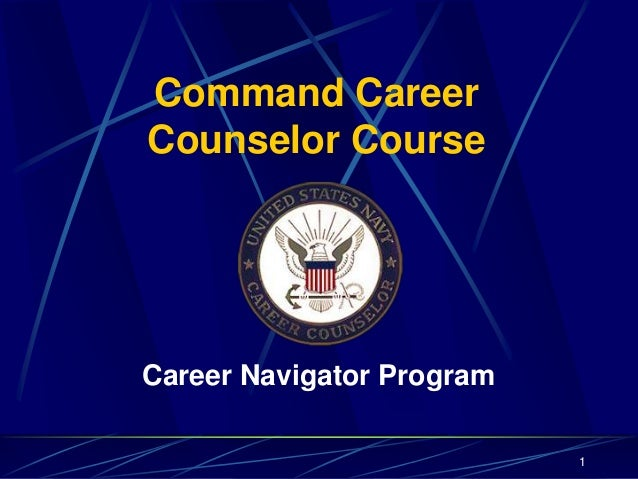 Command CareerCounselor CourseCareer Navigator Program1