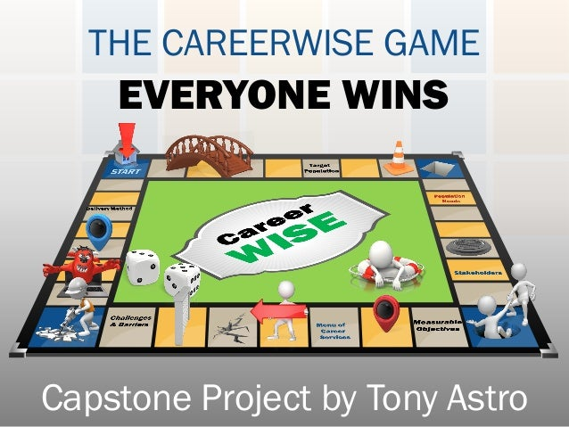 THE CAREERWISE GAME EVERYONE WINS Capstone Project by Tony Astro