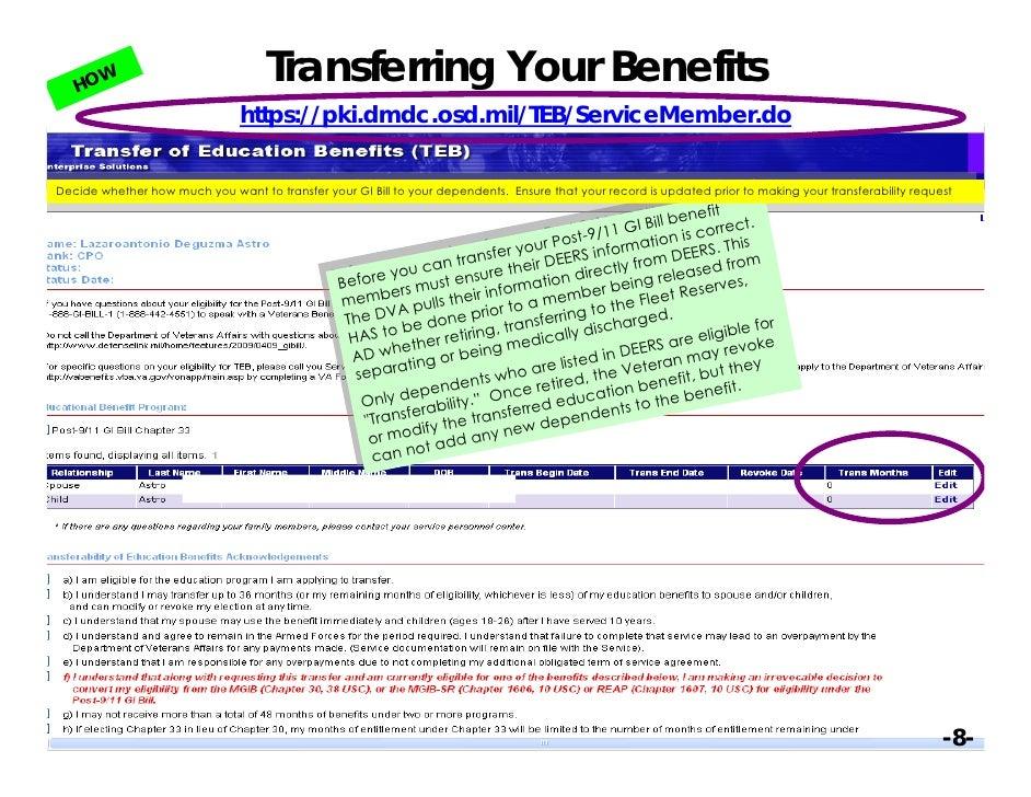 bill gi flight eligibility certificate letter insurance centre