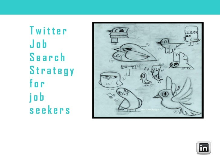 TwitterJobSearchStrategyforjobseekers