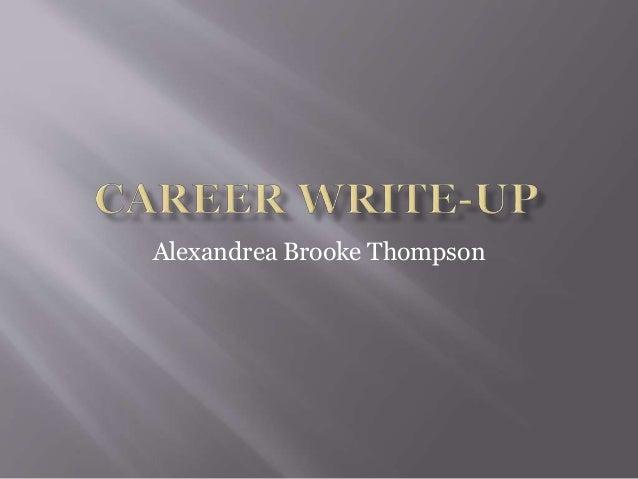 Alexandrea Brooke Thompson