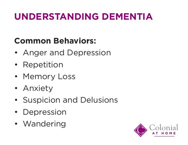 Understanding Behavioral Changes in Dementia | Lewy Body ...