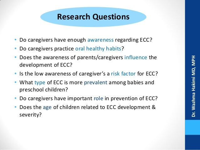 outline early childhood caries 3 the previous edition of the cpg on management of severe early childhood caries was first published in 2005 and since then, there has been new evidence on.