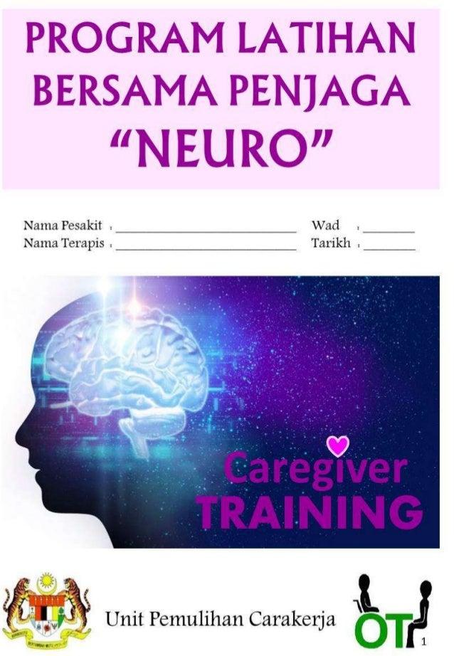 Caregiver training booklet (bm)