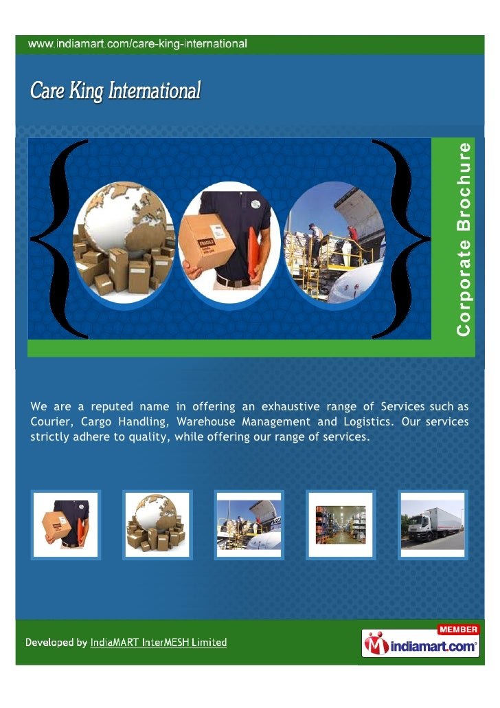 We are a reputed name in offering an exhaustive range of Services such asCourier, Cargo Handling, Warehouse Management and...
