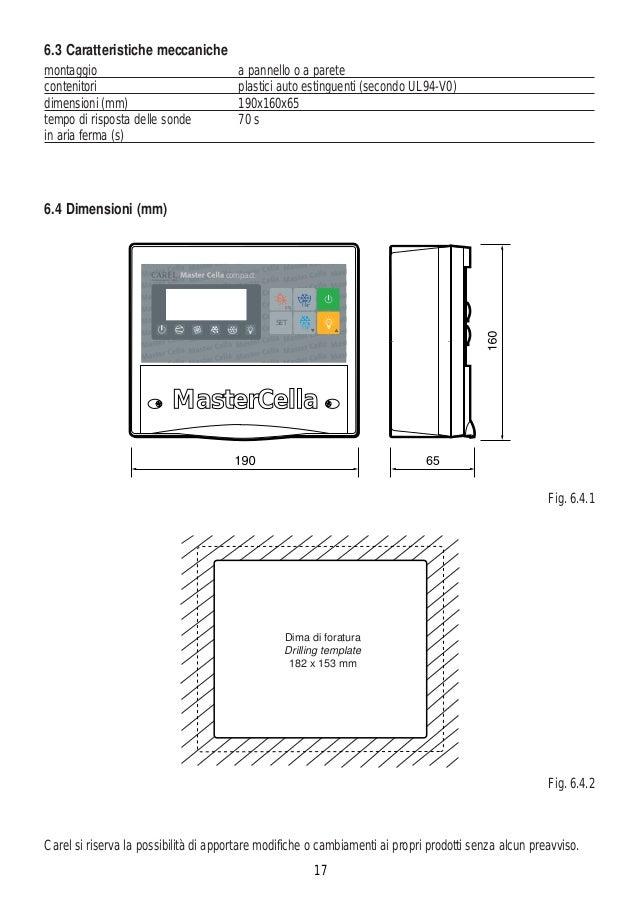 Carel mastercella compact manuel d'utilisation