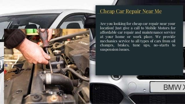 Cheap Car Mechanics Near Me >> Car Engine Repair Services
