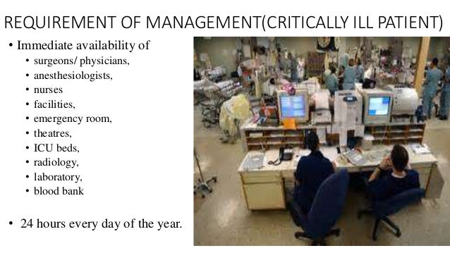 Care of the critically ill patient student.