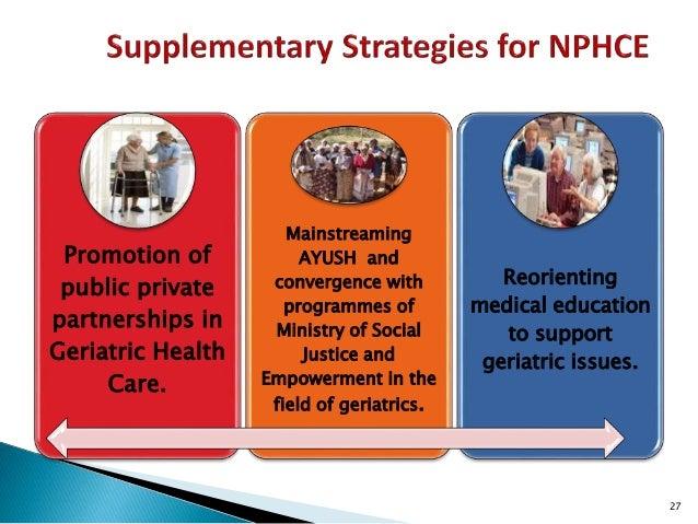 health care needs of the elderly