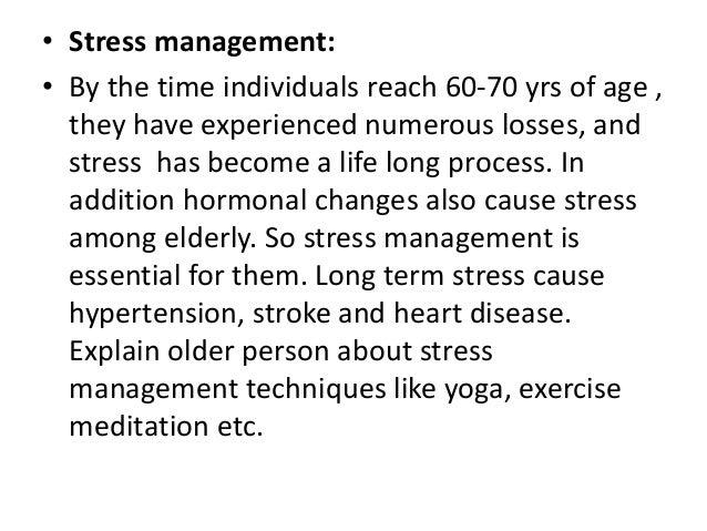 Care of elderly nursing perspective