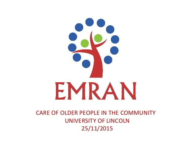 Free Personal Care for the elderly