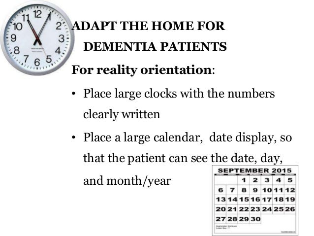 how to take care of dementia patients