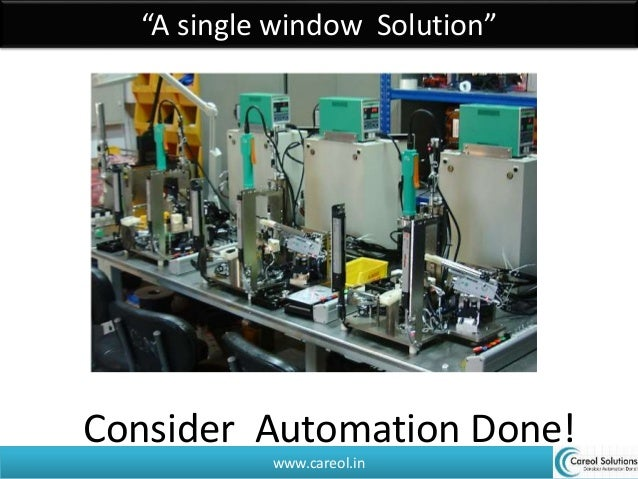"""www.careol.in """"A single window Solution"""" Consider Automation Done!"""