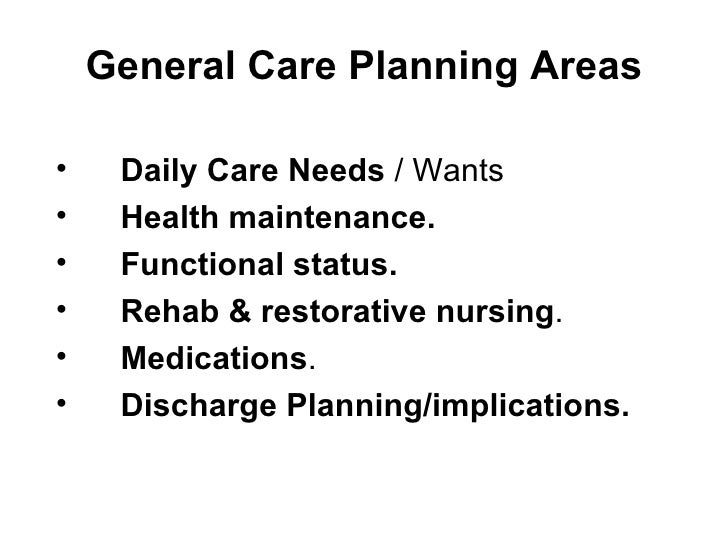 Care Planning