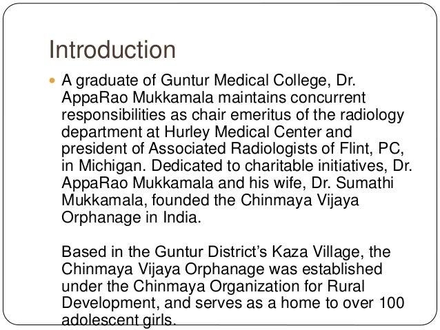Care Programs at Chinmaya Vijaya Orphanage Slide 2