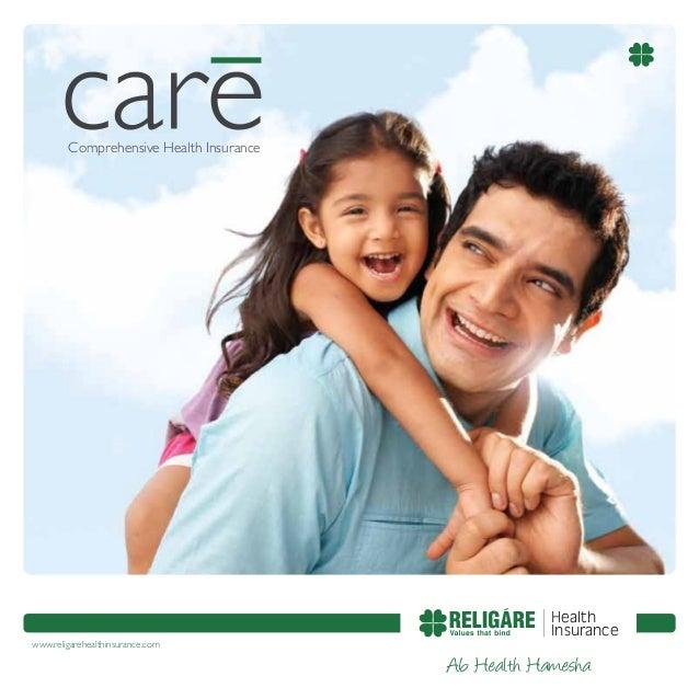 Comprehensive Health Insurance  www.religarehealthinsurance.com  Health Insurance