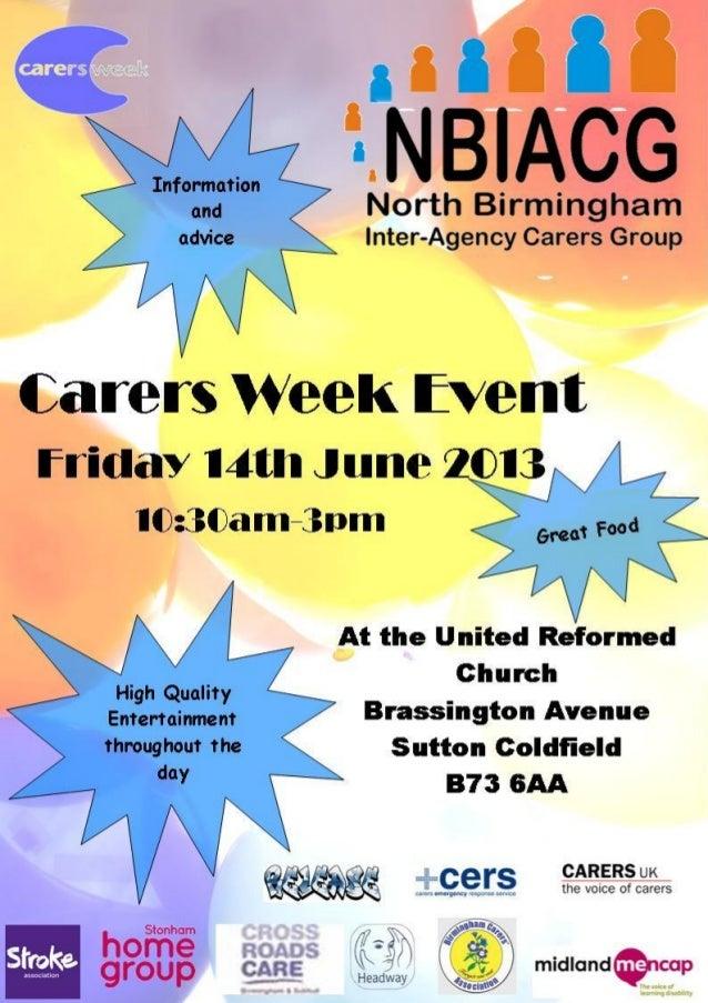 Carers week poster v3