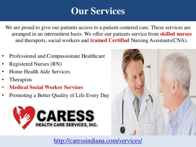 Home Health Care and Medical Social Services in Indiana