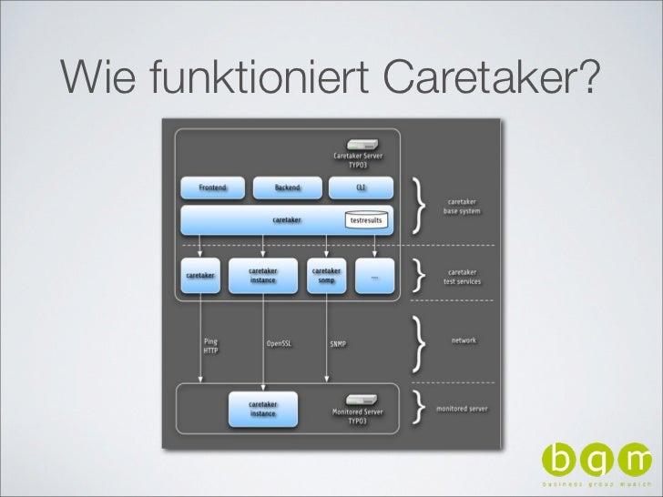 Wie funktioniert Caretaker?
