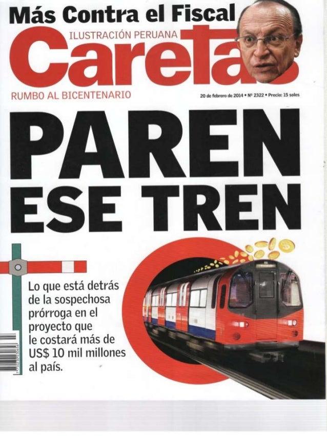 Caretas _ Paren ese tren