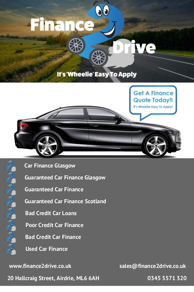 Car Finance Glasgow