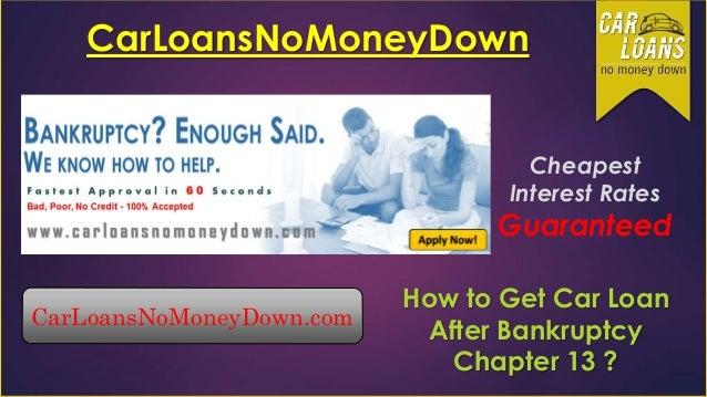 how to get car financing after bankruptcy discharge. Black Bedroom Furniture Sets. Home Design Ideas