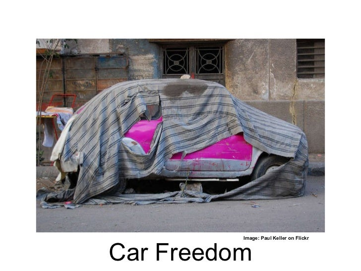 Car Freedom Image: Paul Keller on Flickr