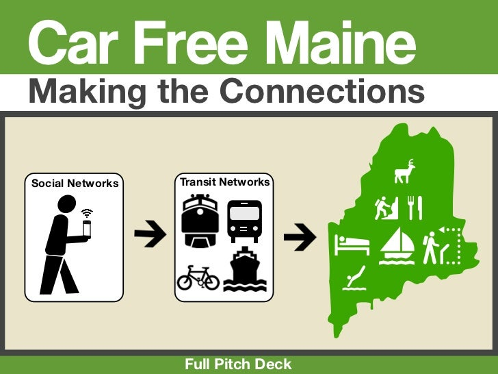 Car Free MaineMaking the ConnectionsSocial Networks   Transit Networks        4                                         1C...