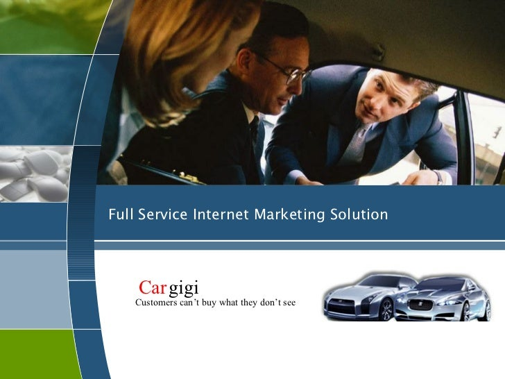 Full Service Internet Marketing Solution    Cargigi   Customers can't buy what they don't see