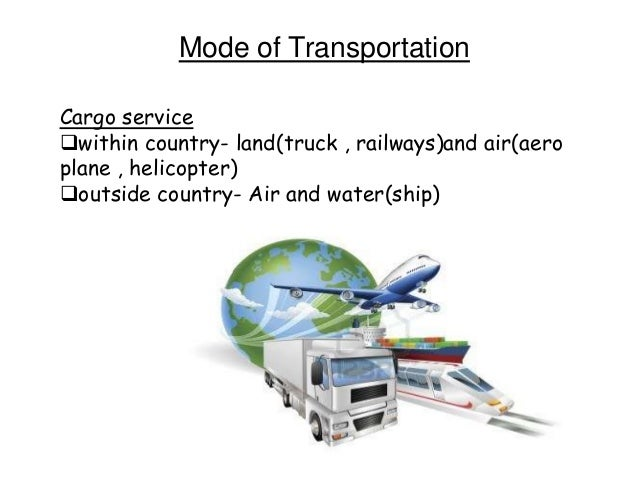 optimal mode of transporting clothes Unit 13: channels of distribution, logistics, and wholesaling the importance of distribution: most producers use intermediaries to bring their products to market.
