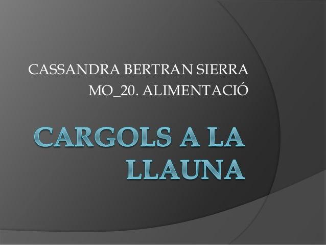 CASSANDRA BERTRAN SIERRA MO_20. ALIMENTACIÓ
