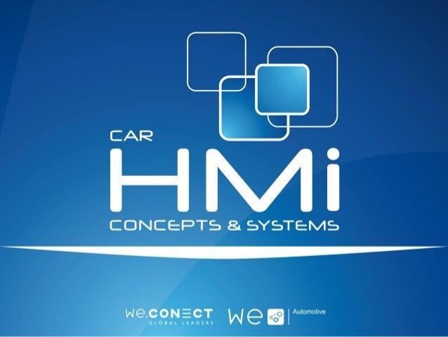Survey Report 2014 CAR HMI Trends & Forces HMI Concepts for Autonomous Driving | Augmented Reality | Voice Control & Speec...