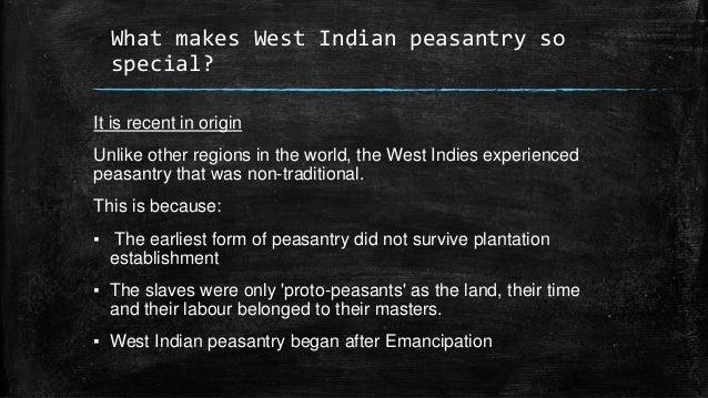 peasantry in the caribbean
