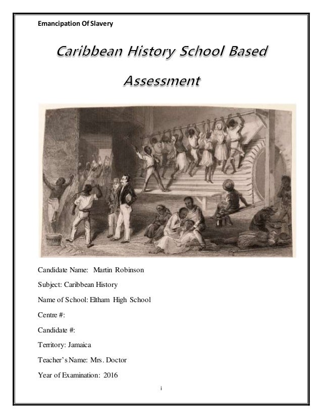 post emancipation caribbean essay The period of chattel slavery in the caribbean history essay of slavery and bringing emancipation thus the period of chattel slavery in the caribbean is.