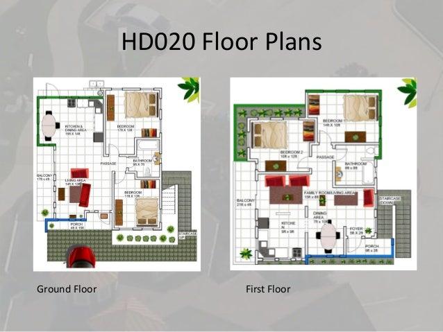 Beau HD020 Floor Plans Ground Floor First Floor ...