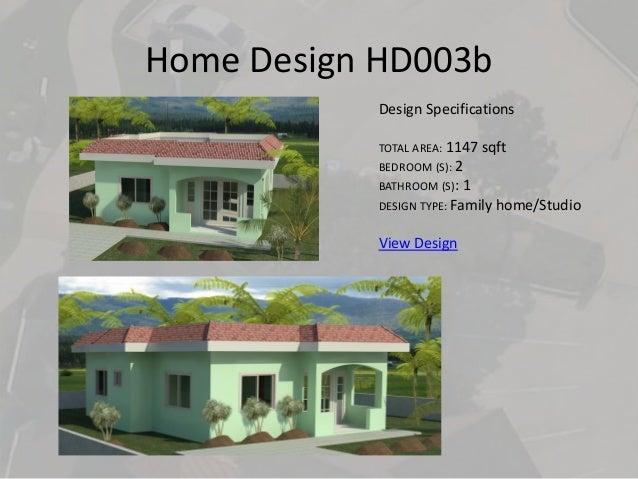 Caribbean house plans jamaica